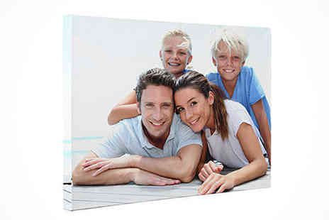 "Print My Photo - Personalised Canvas Print 8"" x 12"" - Save 50%"