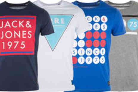 GetTheLabel.com - Mens Jack Jones T shirts in a variety of colours plus delivery - Save 0%