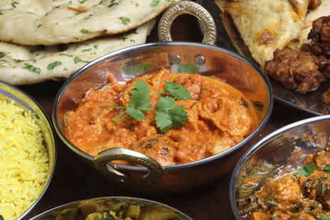 Chutney Jane - Starter, main course, rice and naan to share each - Save 0%