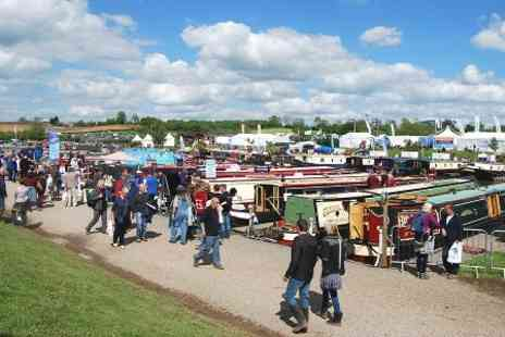 Crick Boat Show - Adult Ticket to Crick Boat Show 2015 - Save 48%