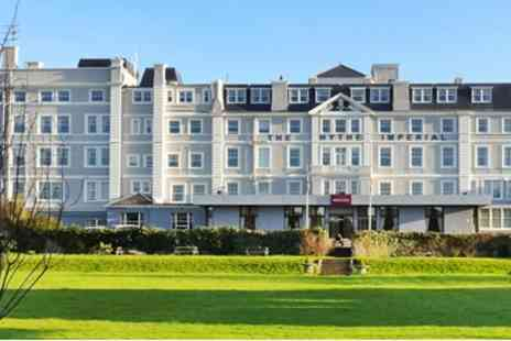 Mercure Hythe Imperial Hotel  -  Coastal Sparkling Afternoon Tea for Two  - Save 42%