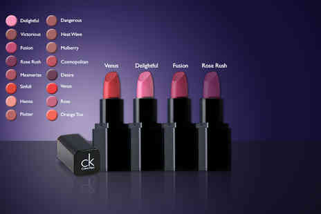 Look N Style  - Fouor piece Calvin Klein lipstick set   - Save 80%