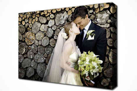 "Breathtaking Canvas  - 14"" x 20"" Personalised Canvas Print - Save 67%"