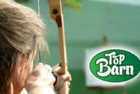 Top Barn Activity Centre - Half day of archery, shooting & climbing - Save 69%