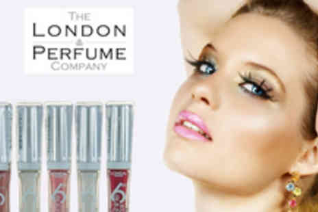 The London Perfume Company - LOreal 5 piece Glam Shine Volumizer Lip Gloss set - Save 66%