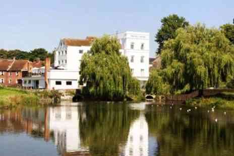 The Legacy Mill Hotel - Overnight Suffolk Getaway with Dinner & Cream Tea - Save 47%