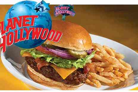 Planet Hollywood - £50 Dining Pass - Save 16%