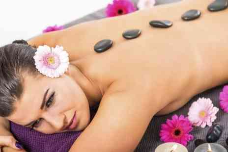 Achilles Massage Therapy - Hot Stone or Choice of Full Body Massage - Save 58%