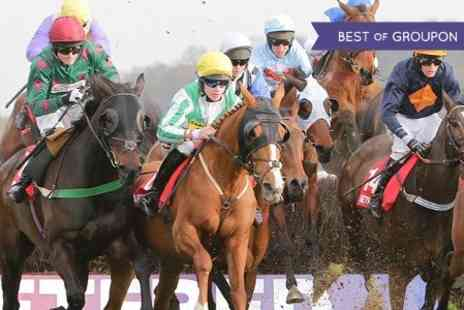 Uttoxeter Racecourse -  Two Premier Enclosure Tickets  - Save 50%