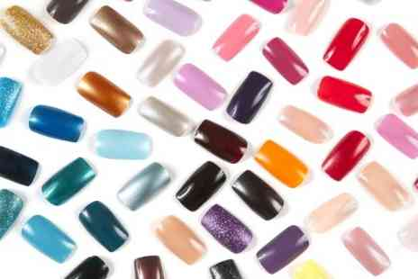 Femme Fatale Hair Studio - Set of Gel Nails For Hands  Plus Manicure  - Save 50%