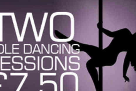 Goeswell Fitness and Dance - Shape up in style with two pole dancing lessons - Save 50%