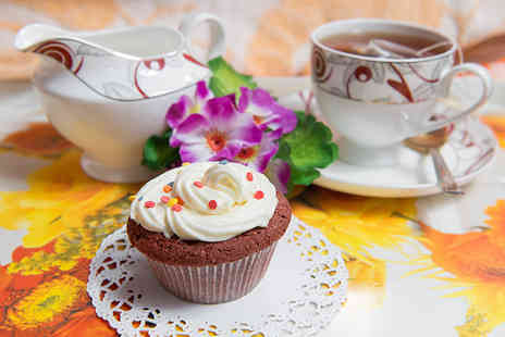 Blueberry Tearoom - Tea cakes with tea or coffee for two  - Save 0%