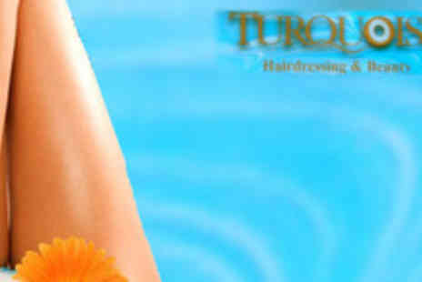 Turquoise Hair and Beauty - Waxing Voucher Choose from a range of body areas - Save 77%