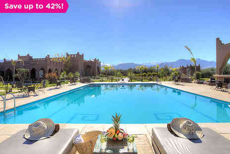 Kasbah Igoudar - Views of The Atlas Mountains from a Luxury Riad - Save 42%