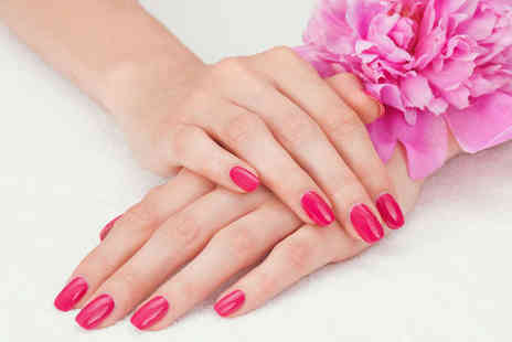 RW Nails - One or Three Shellac Manicures - Save 52%