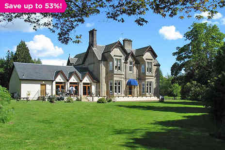 Strathblane Country House Hotel  - Scottish Country House Retreat for 1night Plus Dinner - Save 53%