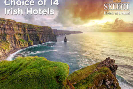 Select Hotels of Ireland - Your Choice of 14 Irish Hotels - Save 24%
