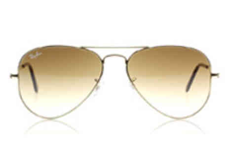 King of Shades  - Ray Ban 3025 Aviator Arista Sunglasses - Save 35%