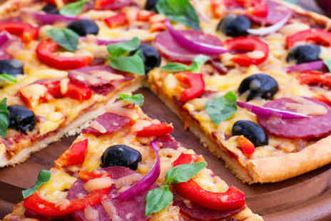 Herbies Pizzas - Order any pizza up to 14 inch from Herbies Pizza - Save 69%