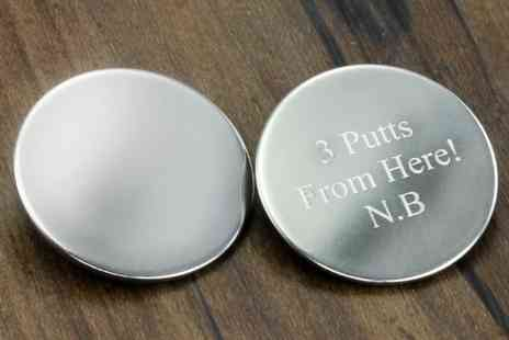 Freemind Media - Personalised Golf Ball Markers - Save 65%