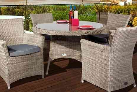 Cozy Bay -  Four Seat Garden Furniture Set - Save 47%
