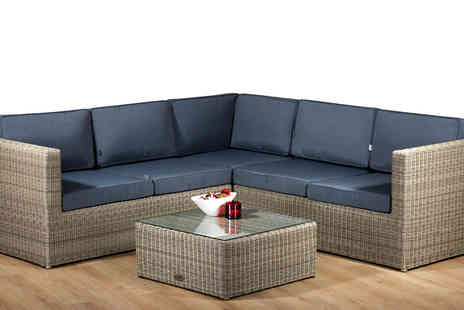 Cozy Bay  - Hampton 5 Seater Garden Sofa Set - Save 38%