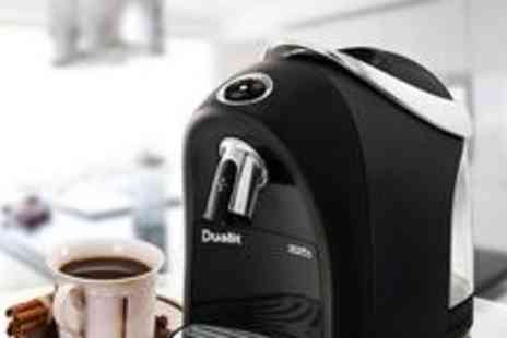 Löfbergs Lila - Dualit Louise coffee capsule machine - Save 50%