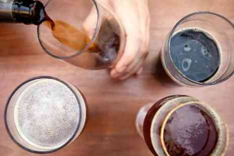 Express Brewing - Beer Brewing Masterclass with breakfast, sample beer and two - Save 59%
