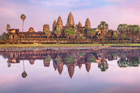 STA Travel - 14 day Cambodia adventure tour including accommodation, tour guide, day trips and breakfast - Save 0%