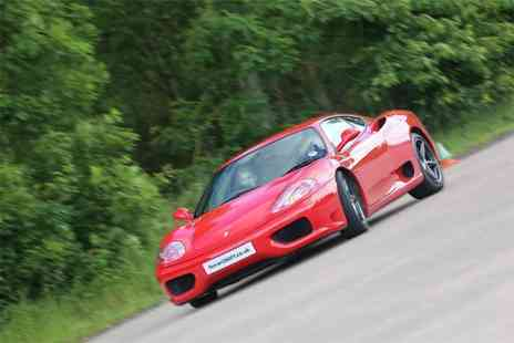 Ferrari 360 F1 - Junior supercar experience with Ferrari 360 F1, Throckmorton Airfield - Save 62%