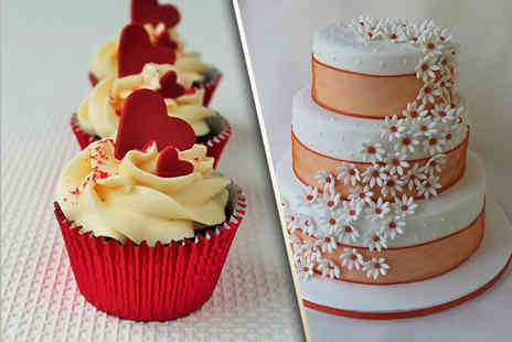 Candys Cupcakes - 100 wedding cupcakes - Save 50%