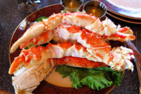 Bright Courtyard Club - Alaskan King Crab Set Menu with a Glass of Prosecco Each for Two - Save 58%