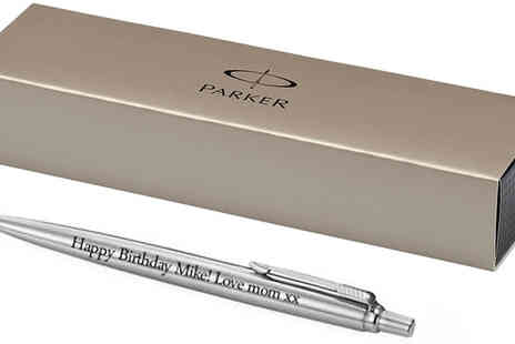 Print My Photo - Personalised Engraved Parker Pen - Save 64%