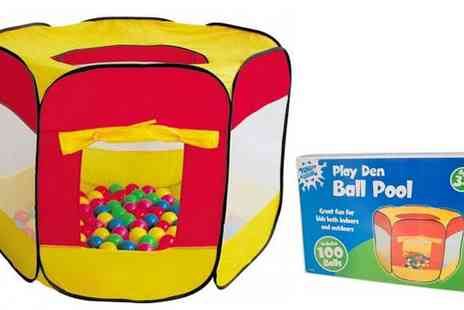 All Boxed Up  - Play Den Ball Pool with 100 Balls Included - Save 62%