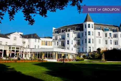 The Royal Bath Hotel - One Night stay For Two With Breakfast, Dinner and Wine - Save 0%