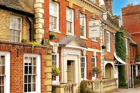 The Highworth Hotel - Two Course Meal with Fizz for 2  - Save 50%