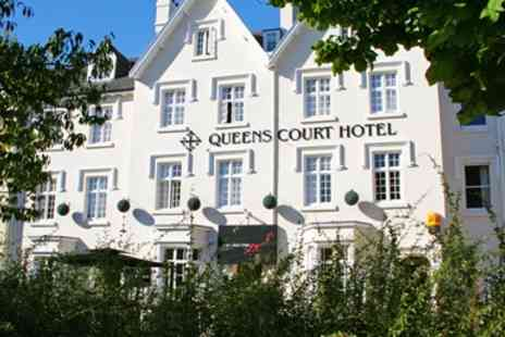 The Queens Court Hotel -  Central Exeter Georgian Hotel Stay with 6 Course Dinner - Save 36%