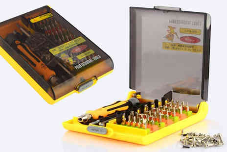 Widgetlove - 45 in 1 Precision Screwdriver Set - Save 60%