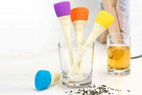 Widgetlove - Paintbrush Shaped Tea Filter - Save 74%
