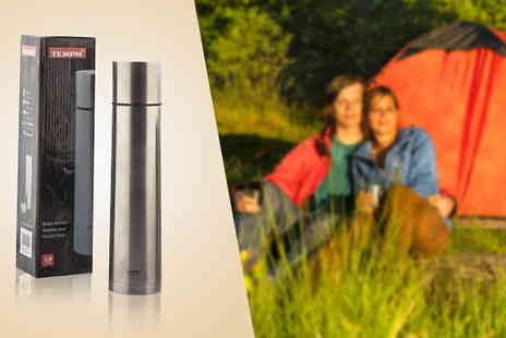 Home accessories - Two Tempa Vacuum Flasks - Save 74%