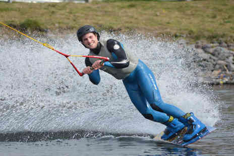 Wakelake - Beginners wakeboarding session  - Save 56%