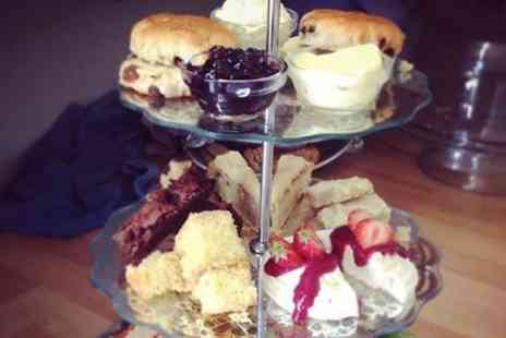 Oak Cafe - Afternoon Tea For Two - Save 0%