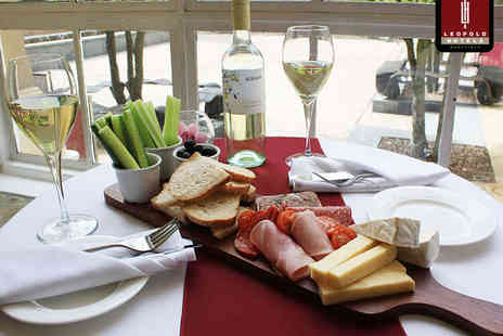 Leopold Hotel - Luxury Sharing Platter with a Bottle of Wine for Two - Save 0%