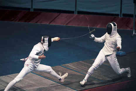 Fighting Fit Fencing - Four Week Fencing Course or Three Hour Fast Track Workshop for One - Save 71%