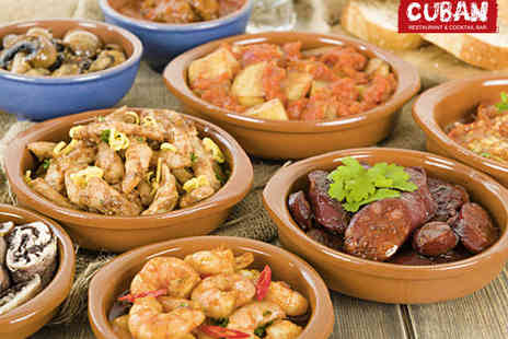 The Cuban - £50 to Spend on Food for Two - Save 61%