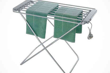 In To Dry: Indoor Heated Clothes Airer - Heated Clothes Airer - Save 71%