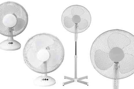 RS Communications - A Choice of Oscillating Fans - Save 33%