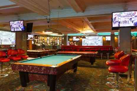 Sharkeys Sports Bar - One Hour of Pool Plus Pint of Beer For Two - Save 0%