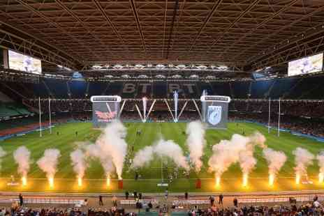Welsh Rugby Union - Ticket to Judgement Day III Rugby - Save 0%