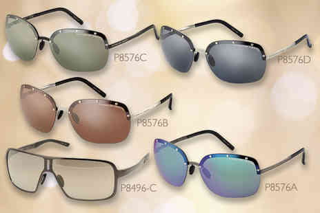 Shop On Time  - Pair of Porsche sunglasses in a choice of five mens or ladies styles   Plus DELIVERY INCLUDED - Save 73%